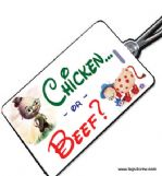 Chicken or Beef Crew Tag